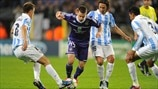 Anderlecht 0-3 Málaga: the story in photos