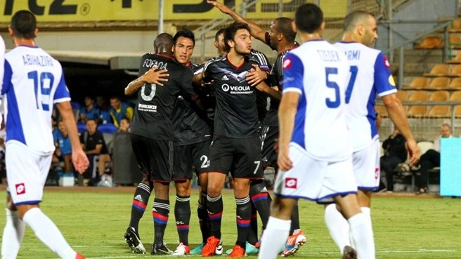 Lyon leave it late to see off Kiryat Shmona
