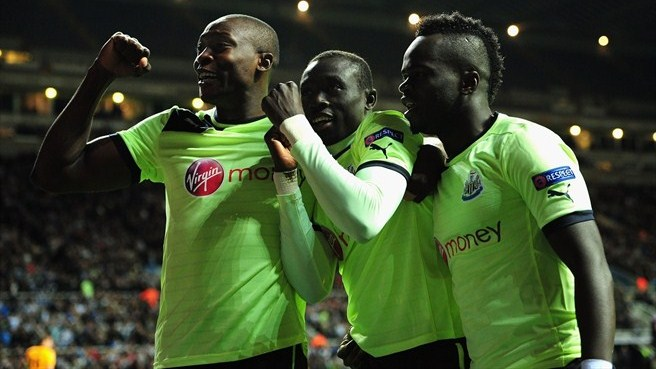 Newcastle beat Bordeaux to reach century in style