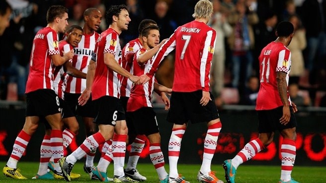 PSV make light work of Napoli