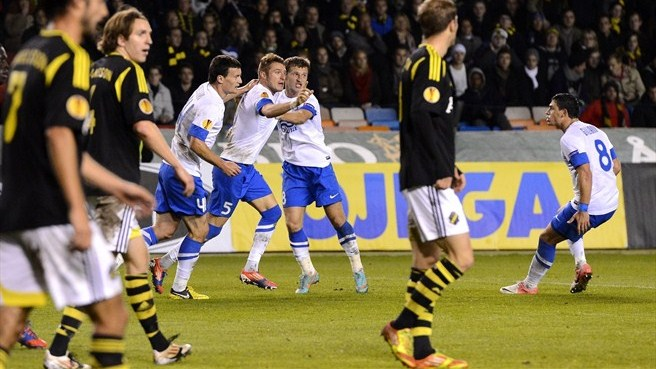 Dogged Dnipro battle back to beat AIK
