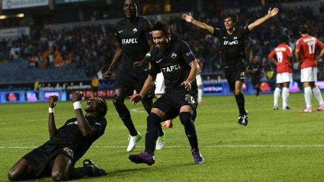 Goals flow as drama grips Europa League