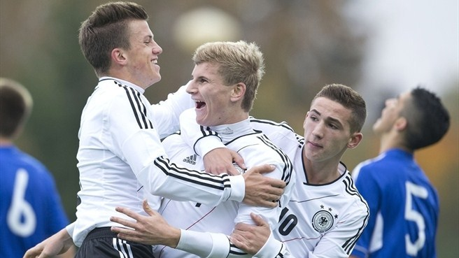 Record-breaking Germany go on with Finland
