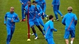 Netherlands training session