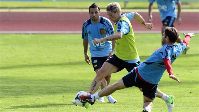 Fernando Torres & Xabi Alonso (Spain)