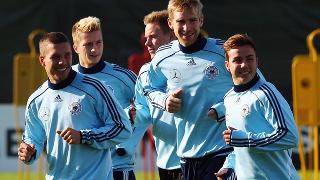 Germany training session
