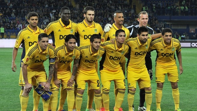 FC Metalist Kharkiv Team Group