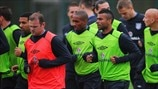 Wayne Rooney, Jermain Defoe & Ashley Cole (England)