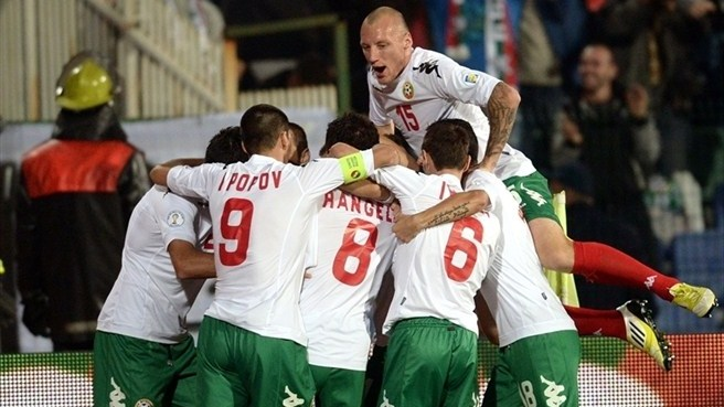 Ten-man Bulgaria hold Denmark to a draw
