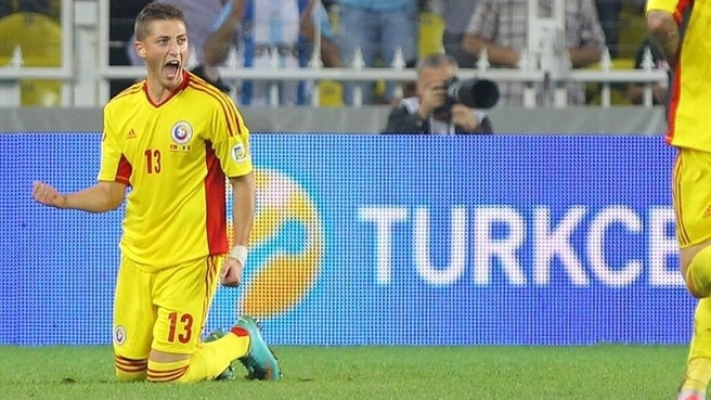 Grozav goal lifts Romania in Turkey