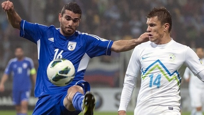 Slovenia off the mark with slender Cyprus win