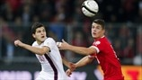 Tarik Elyounoussi (Switzerland) & Granit Xhaka (Norway)
