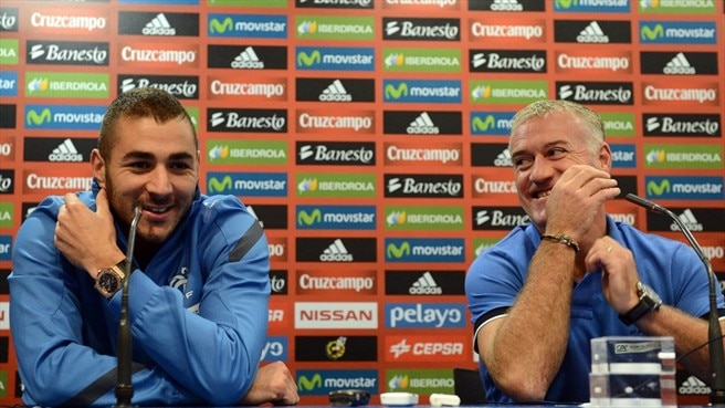 Karim Benzema & Didier Deschamps (France)