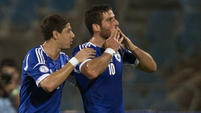 Hemed strikes again for Israel against Luxembourg
