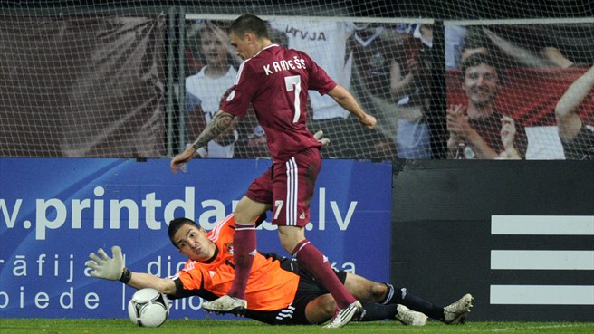 Latvia off the mark with Liechtenstein scalp
