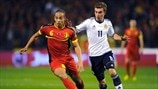 Axel Witsel (Belgium) & James Morrison (Scotland)