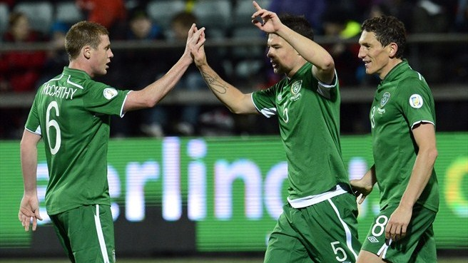 Ireland get back on track with Faroes win