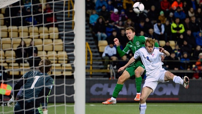 Símun Samuelsen (Faroe Islands), Aiden McGeady (Republic of Ireland)