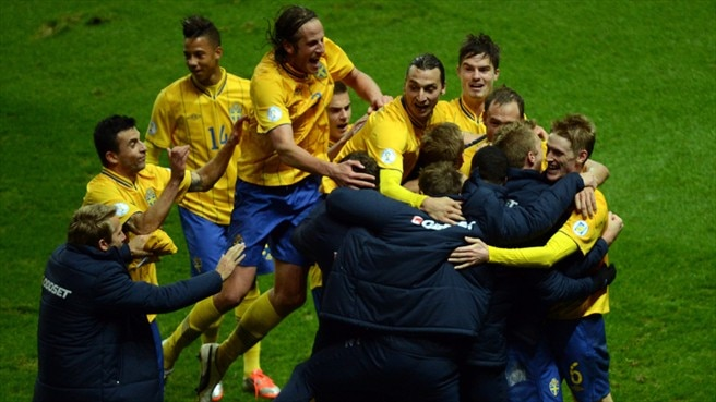 Four-goal Sweden comeback stuns Germany