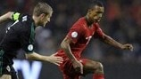 Steven Davis (Northern Ireland) & Nani (Portugal)