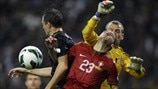 Hélder Postiga (Portugal), Jonny Evans & Roy Carroll (Northern Ireland)
