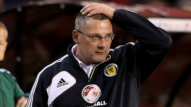 Levein years over for Scotland