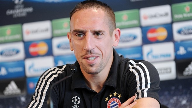 Ribéry in confident mood for LOSC visit