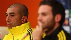 Press conference: Juan Mata and Roberto Di Matteo (Chelsea)