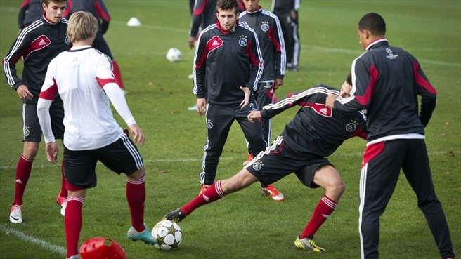 AFC Ajax training session