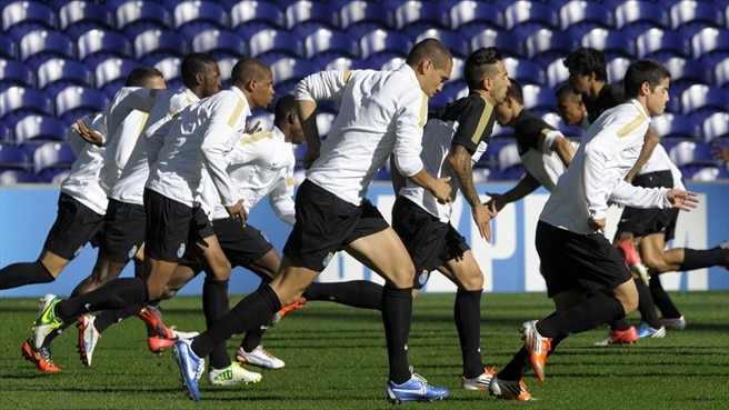 FC Porto training session