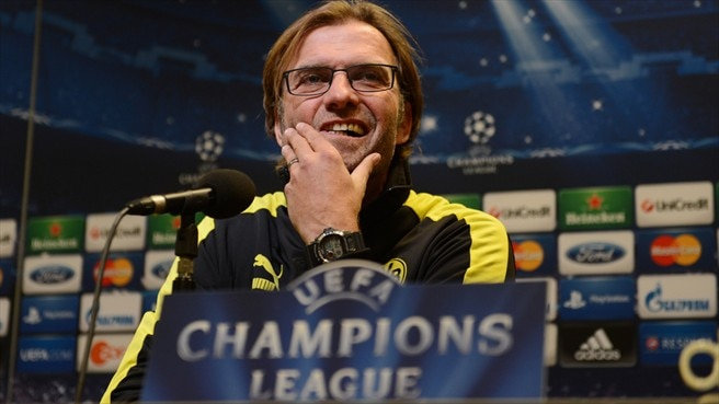 Dortmund coach Klopp in awe of Madrid
