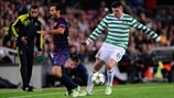 Barcelona 2-1 Celtic: the story in photos