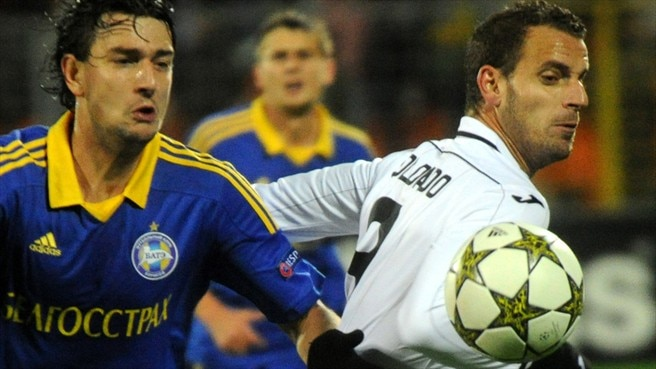 BATE-Valencia: Reaction