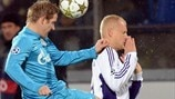 Zenit 1-0 Anderlecht: the story in photos