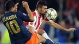 Montpellier 1-2 Olympiacos: the story in photos