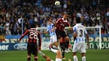 Málaga 1-0 Milan: the story in photos