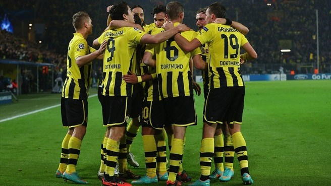 Dortmund replace Madrid as Group D leaders