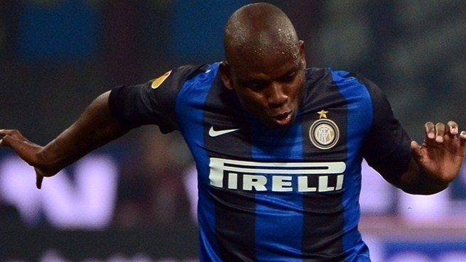 Inter's Mudingayi out for rest of season
