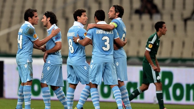 Panathinaikos – Lazio reaction