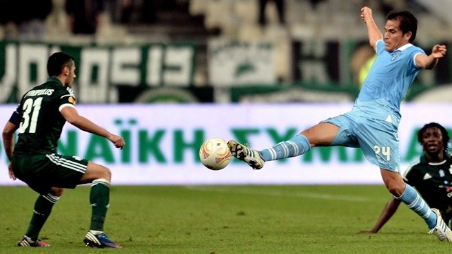 Panathinaikos on back foot ahead of Lazio trip