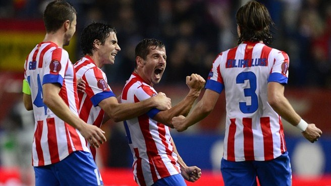 Perfect Atlético on brink of knockout stages