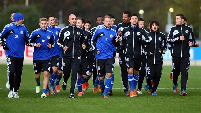 FC Schalke 04 training session