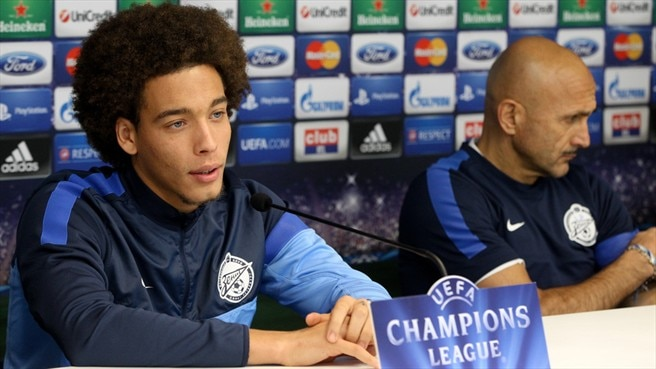 Axel Witsel & Luciano Spalletti (FC Zenit St Petersburg)