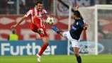 Olympiacos 3-1 Montpellier: the story in photos