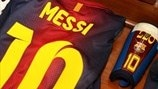 Lionel Messi's kit (FC Barcelona)