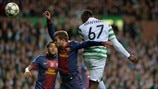 Celtic 2-1 Barcelona: the story in photos