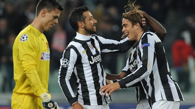 Juventus and Chelsea vie for progress