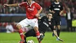 Benfica 2-0 Spartak: the story in photos