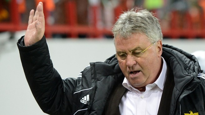 Anji provide Hiddink with many happy returns