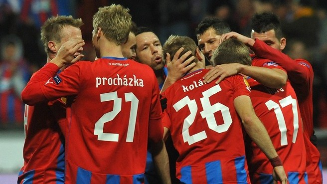 Plzeň too powerful for Hapoel's ten men